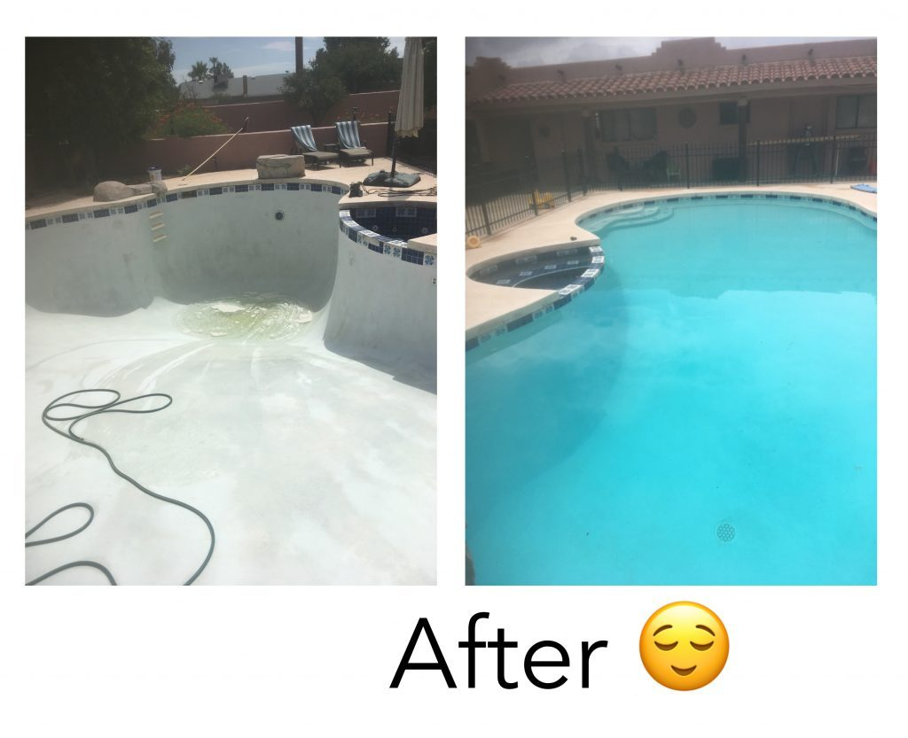 Black Algae Cleanup - Before and After!
